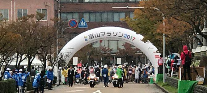 富山マラソン2017 車いす競技のお手伝いしてきました
