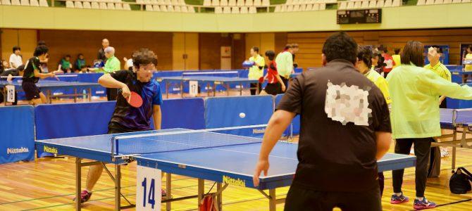 卓球大会が開催されました(11月11日)