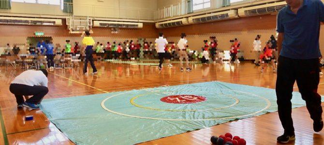 にいかわ総合支援学校生徒・OB会でパラスポーツ体験会を行いました。(6月24日)