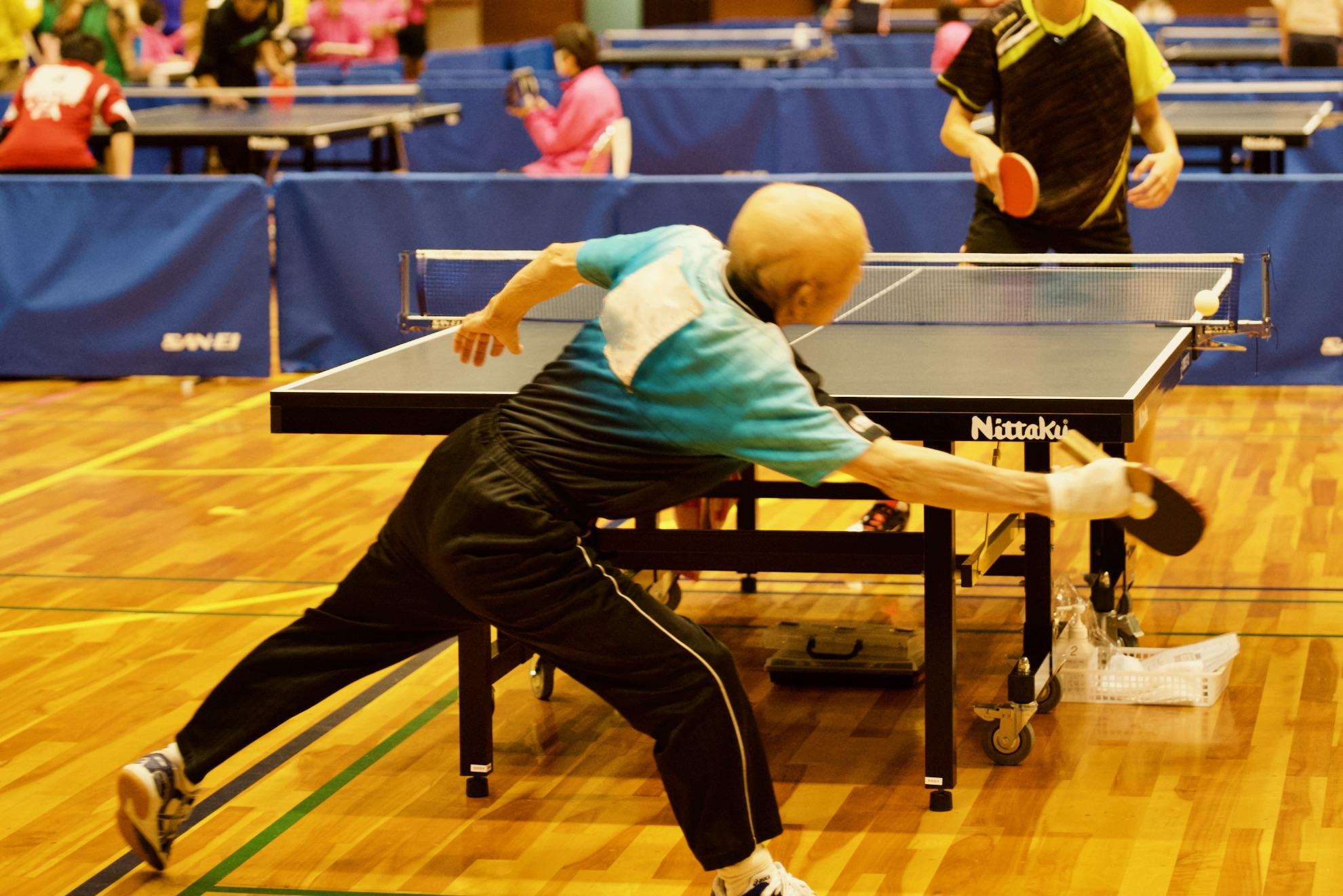 富山県障害者スポーツ大会 卓球競技会 のお手伝い報告